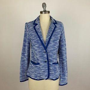 Tommy Hilfiger Blue Tweed Blazer